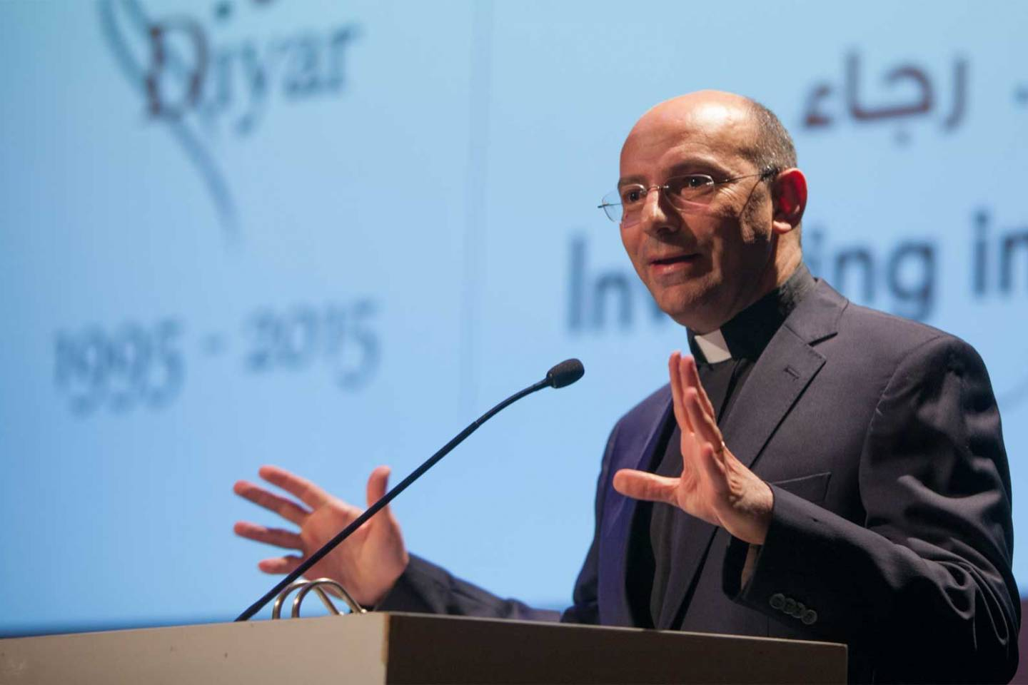 Leading Palestinian Pastor, Theologian and Author, Rev. Dr. Mitri Raheb Focusing on Peace-Making Work