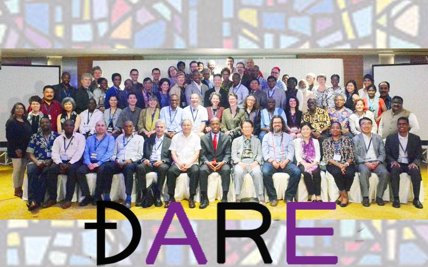 Rev. Dr. Mitri Raheb at the launch of DARE Global Forum