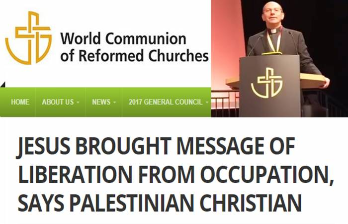 An article about Dr. Raheb's perspective in the 26th General council of WCRC