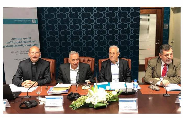 """""""A Century of Emigration and Forced Migration of the Christian Palestinian Community"""