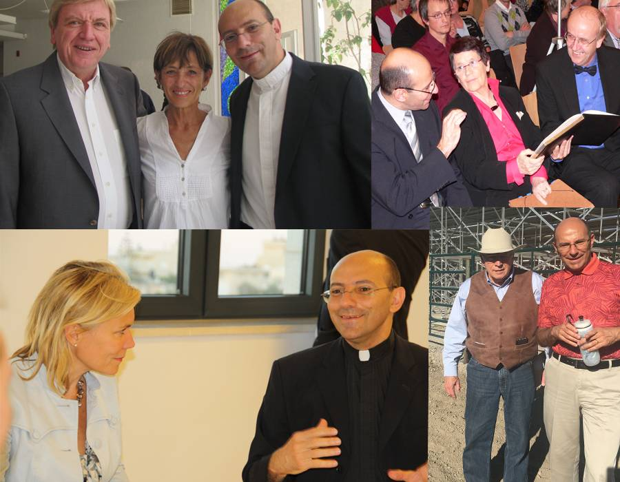 مع السياسيين الدوليين