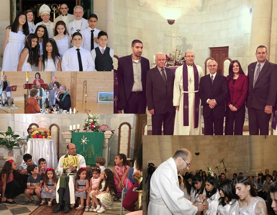 ثلاثون عاما من الخدمة الكنسية
