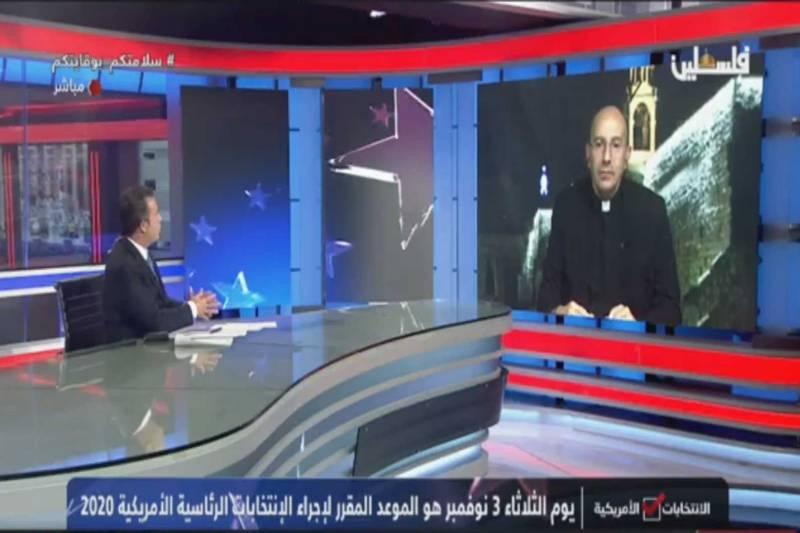 الانتخابات الأمريكية حوار القس الدكتور متري الراهب مع تلفزيون فلسطين